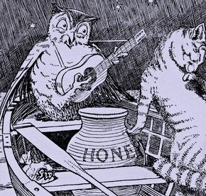 Edward Lear's 'The Owl and the Pussycat' voted most popular childhood poem
