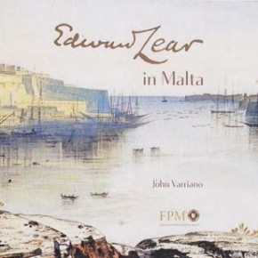 """The artist who painted Malta: Edward Lear watercolours and words at Palazzo Falson"""