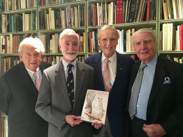 Launch of Peck's book