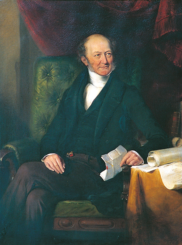 Portrait of Edward Stanley