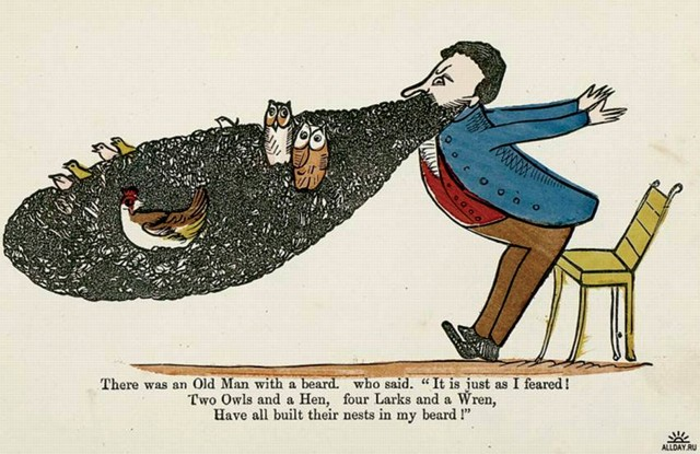 Unnamed, Edward Lear, published in Book of Nonsense (1846)