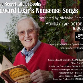 The Secret Life of Books – Edward Lear's Nonsense Songs – Presented by Nicholas Parsons