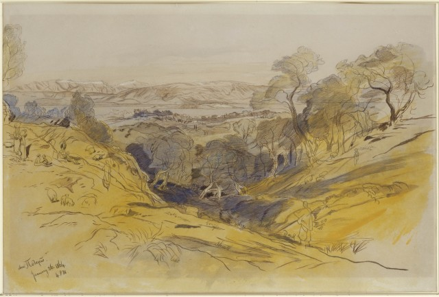 Edward Lear S Landscape Drawings How Many Were There The Edward