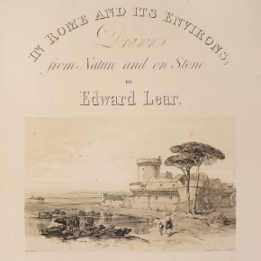 Views in Rome and its environs by Edward Lear