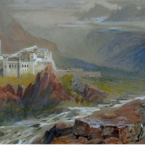 Edward Lear & Mount Athos: his visit in 1856