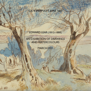 Edward Lear online exhibition of drawings & watercolours